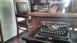 La macchina da scrivere di Luigi Pirandello (Foto di Carlo Rotondo)