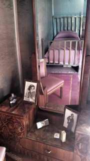 La camera da letto di Luigi Pirandello (Foto di Carlo Rotondo)