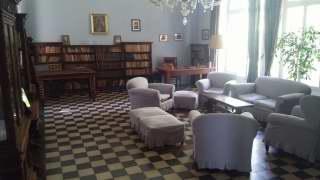 La sala-studio di Luigi Pirandello (Foto di Carlo Rotondo)