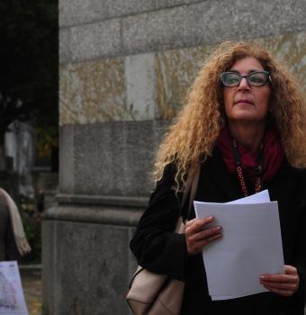 Melania Mazzucco al Monumentale di Milano, foto di Carlo Rotondo