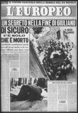 Europeo-Salvatore_Giuliano_inchiesta di Tommaso Besozzi