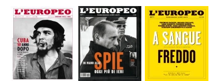 cover L'Europeo mensile