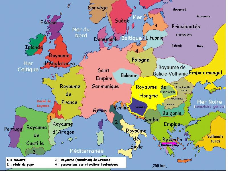 Europe13e Siecle